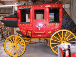 This stagecoach was used in many So. Cal. parades