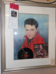 Framed Elvis - $400- Booth 344